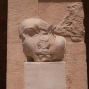 Intentionally mutilated head of Egyptian Pharaoh Hatshepsut