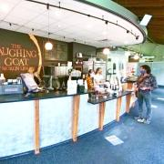 Laughing Goat coffee shop in Norlin Library