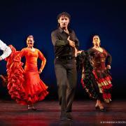 Flamenco Vivo Carlota Santana performs traditional dance on stage