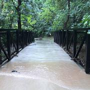 Boulder Creek flooding