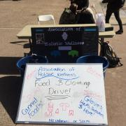 Food and clothing drive on campus
