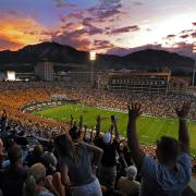 Football at Folsom Field