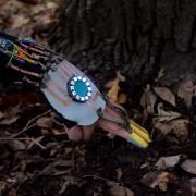 Moisture-sensing glove