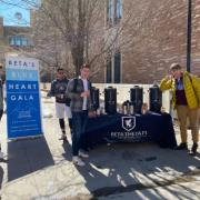 Beta Theta Pi brothers selling tickets to Blue Heart Gala to raise funds for The Blue Bench