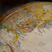 globe map of Earth