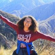 GO scholar Efrata Kirose in Chile