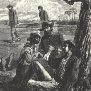 Illustration of African American medic in the Civil War
