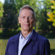 Helmut Müller-Sievers, honoree of the 2019 Distinguished Research Lectureship