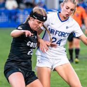 Holly Hunter playing against Air Force