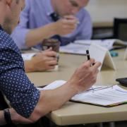 Employees attend HR supervisor workshop