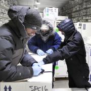 ice core laboratory