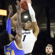Tyler Bey averaged 22 points and 12 rebounds in wins over UCLA and USC