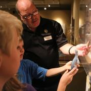 CU Museum of Natural History visitors