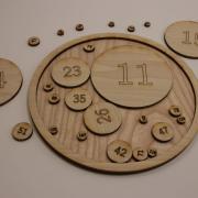 A mathematics diorama