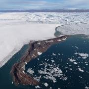 Greenland's Zachariæ Isbræ.