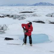 Ice shelf breakup