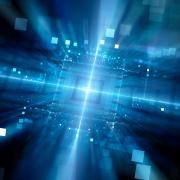 Stock image of quantum science