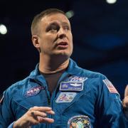 NASA astronaut Jack Fischer