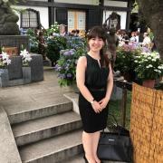Student studying abroad in Tokyo