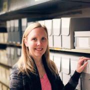 Photo archivist Jennifer Sanchez