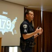 Sergeant John Zizz teaches active harmer response course