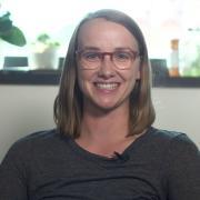Doctoral student Julia Bakker-Arkema