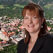 Senior Vice Chancellor Kelly Fox