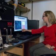 Sabrina Spencer in her lab