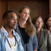 Members of the Korey Wise Innocence Project and Colorado Law