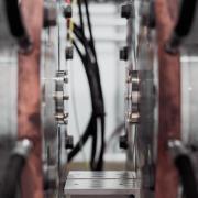 Stock image of lab machinery