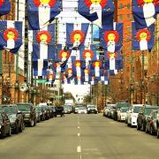 Larimer Square, Denver.