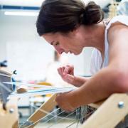 Laura Devendorf works with smart textiles