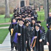 Law commencement ceremony