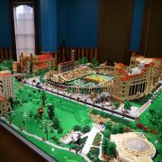 'Hit the Bricks' LEGO exhibit at the CU Heritage Center