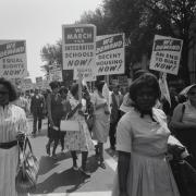 Civil rights march on Washington, D.C. (Photo from the Library of Congress)