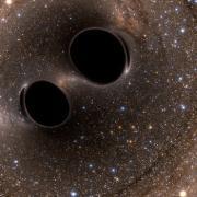 Image taken by Laser Interferometer Gravitational-Wave Observatory, or LIGO,