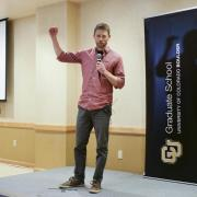 Aerospace doctoral student Luke Bury