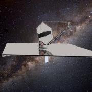 Concept art of LUVOIR spacecraft