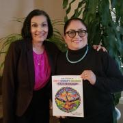 Johanna Maes and Elena Sandoval-Lucero