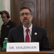 Marcus Holzinger testifying before the U.S. Congress