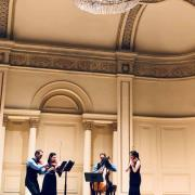 Violin student Marisa Ishikawa joins Carpe Diem string quartet in concert