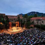 Colorado Shakespeare Festival play at the Mary Rippon outdoor theater