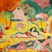 Bonheur de Vivre, Henri Matisse, 1906 | Photo by Uri Jimenez Carrasco