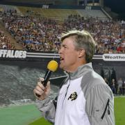 CU Boulder Football Head Coach Mike MacIntyre
