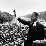 Martin Luther King Jr. speaking at March on Washington