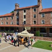Hallet Hall, Move In Day fall 2016