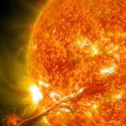 Close up image of the Sun (Image credit: NASA)