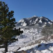 NCAR Winter Scenic