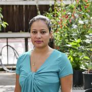 Postdoctoral researcher Daniela Vergara