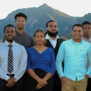 NSBE leadership on the CU Boulder campus